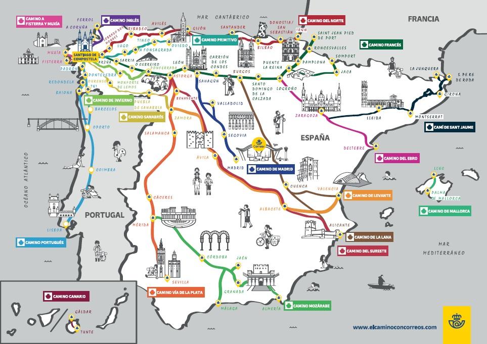 camino-de-santiago-mapa